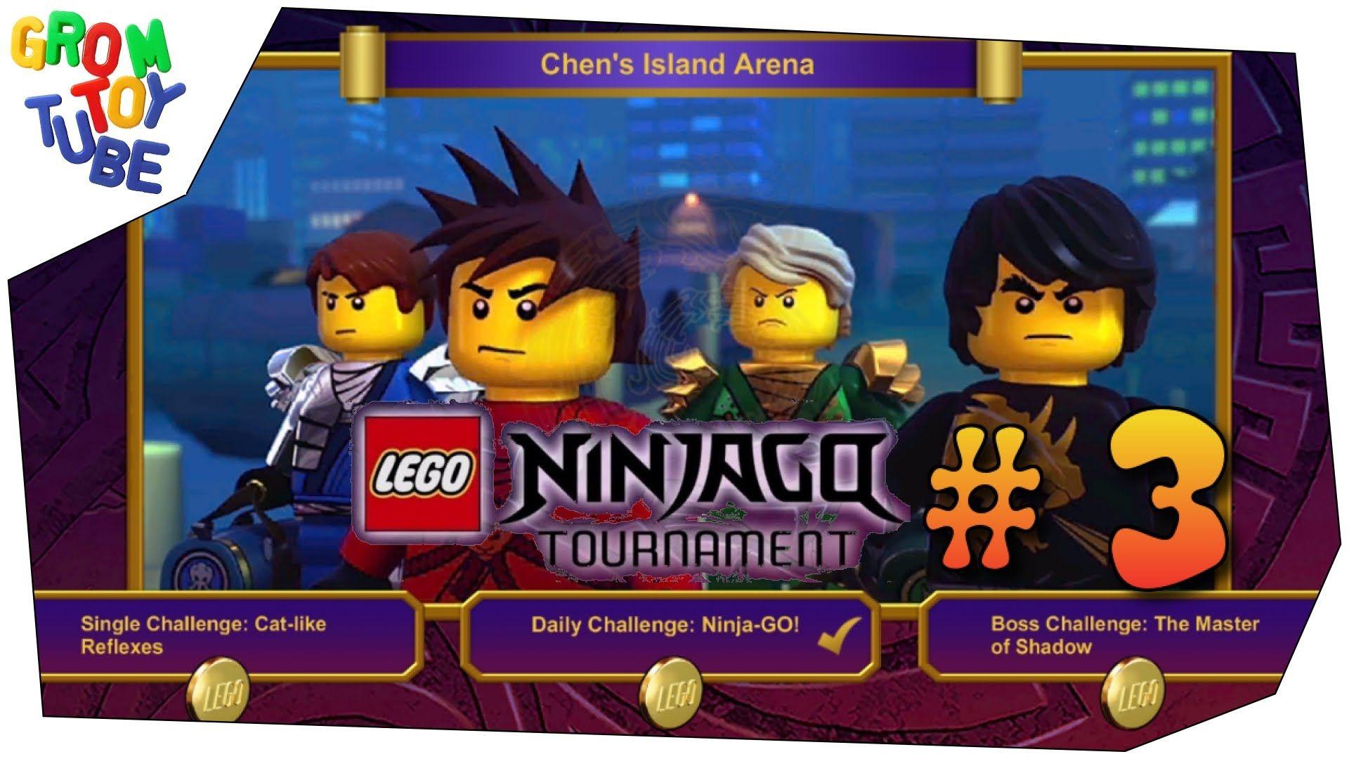 Lego Ninjago Tournament 3 Chen S Island Arena