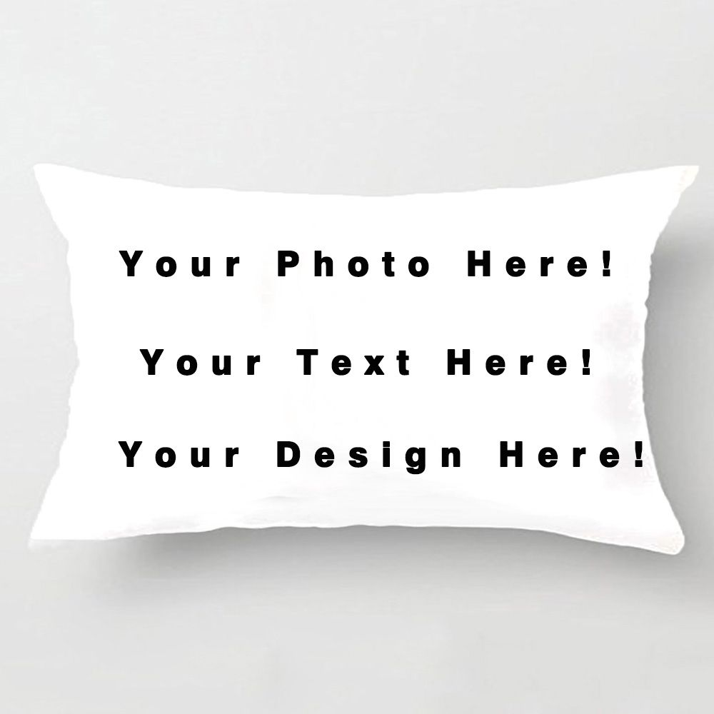 Design Your Own Pillowcase Diy Personalized Custom Logo Design Cushion Cover Your Own Photo