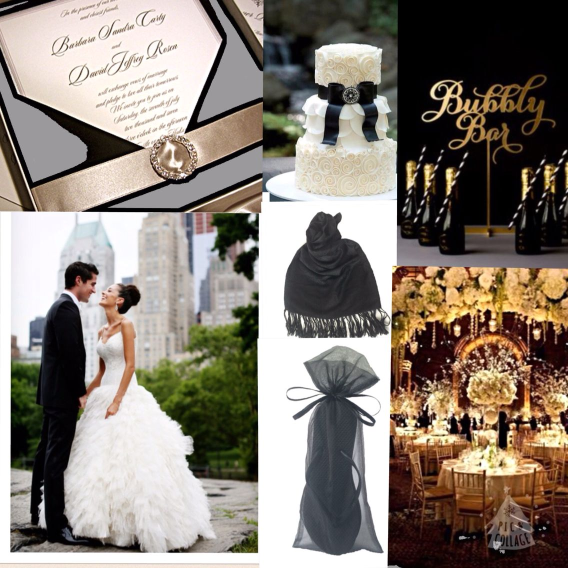 More Black Tie Wedding Inspiration with MPS flip flops and pashminas!