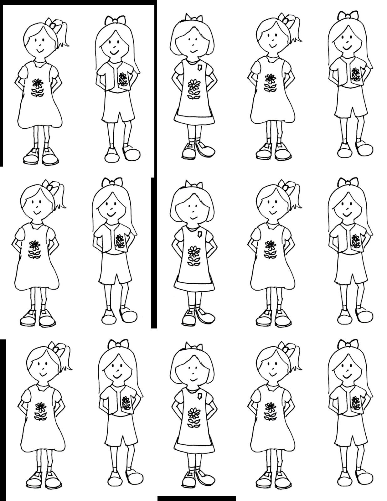Snugglebug University: Free Girl Scouts' Kaper Chart and