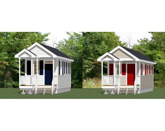 10x28 1bedroom 1bath Tiny House Pdf Floor By