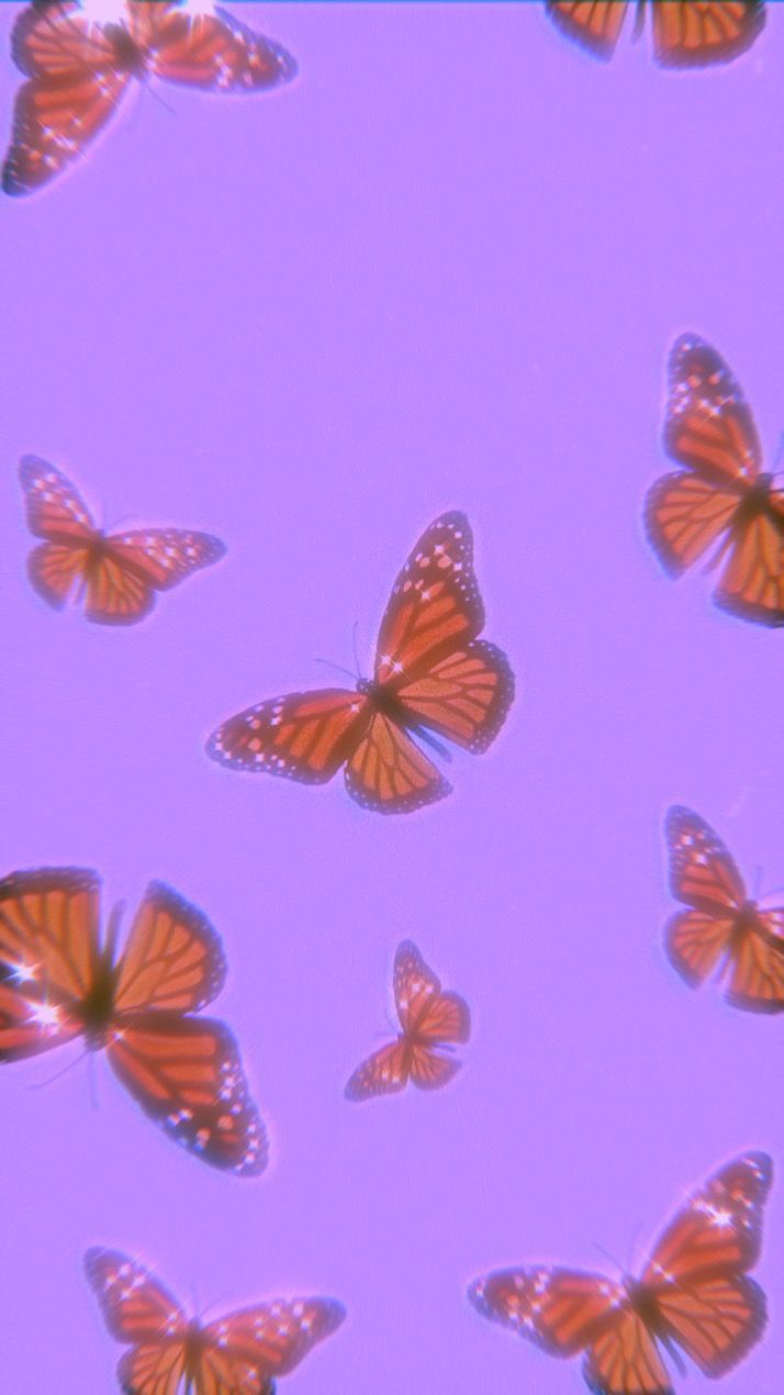 cover edits templates   Butterfly wallpaper iphone, Purple ...
