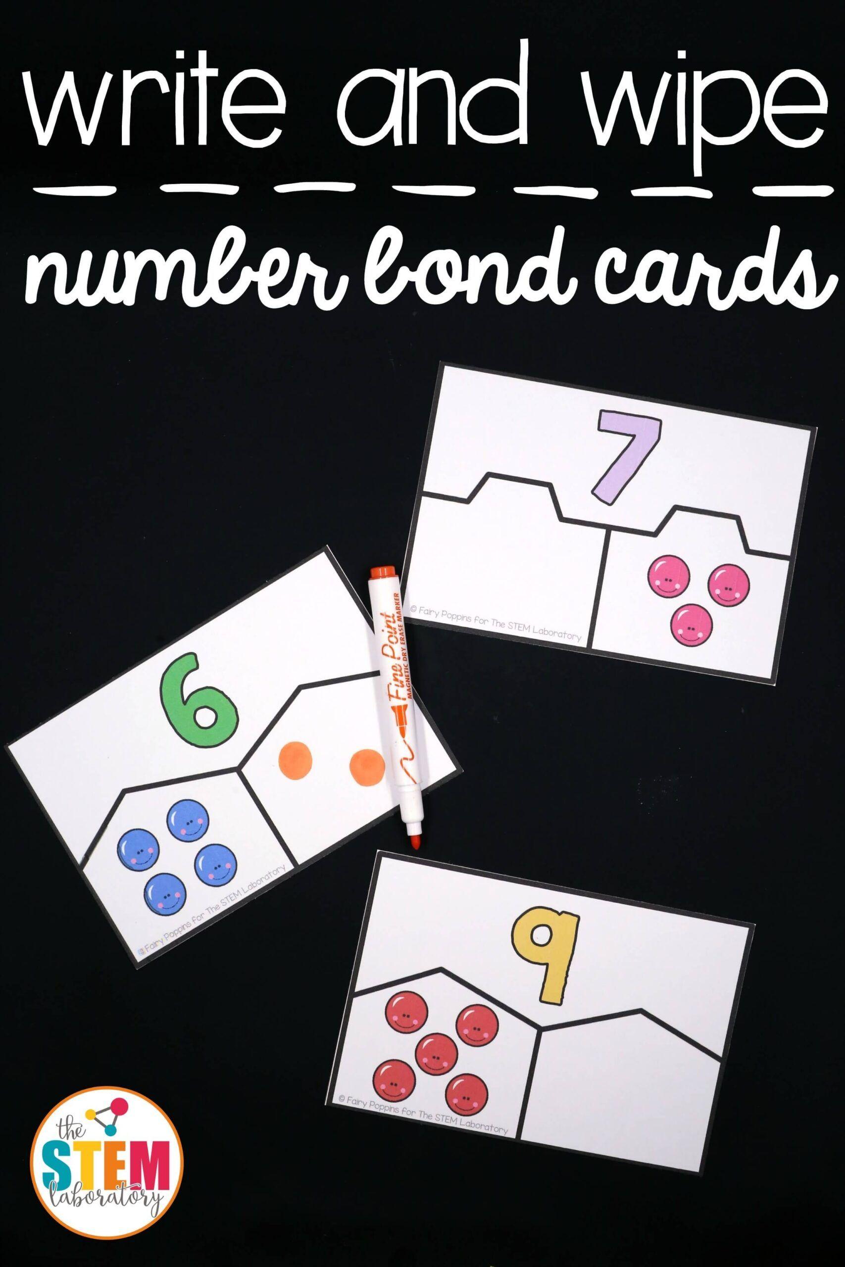 Hands On Number Bond Activities In