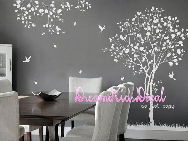 Wandtattoo   Baum Wandtattoo Mit Fotorahmen   Ein Designerstück Von  Dreamkidsdecal Bei DaWanda