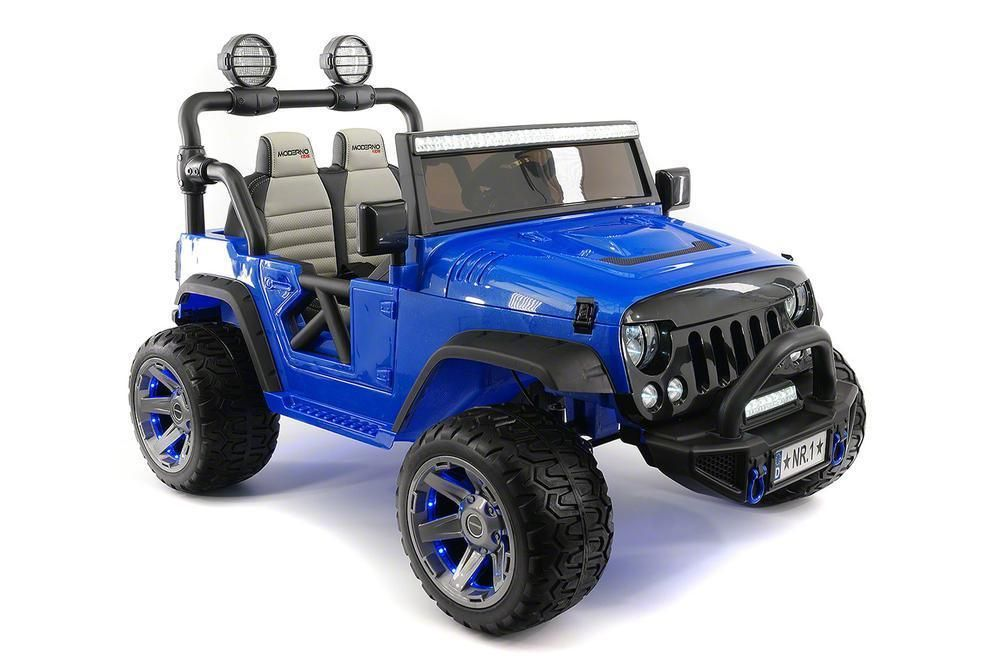 Kids Ride On Jeep Car Battery Powered 12v Electric Toy 2 Seater Truck 3 Speeds Modernokids Kids Ride On Jeep Cars Car Battery
