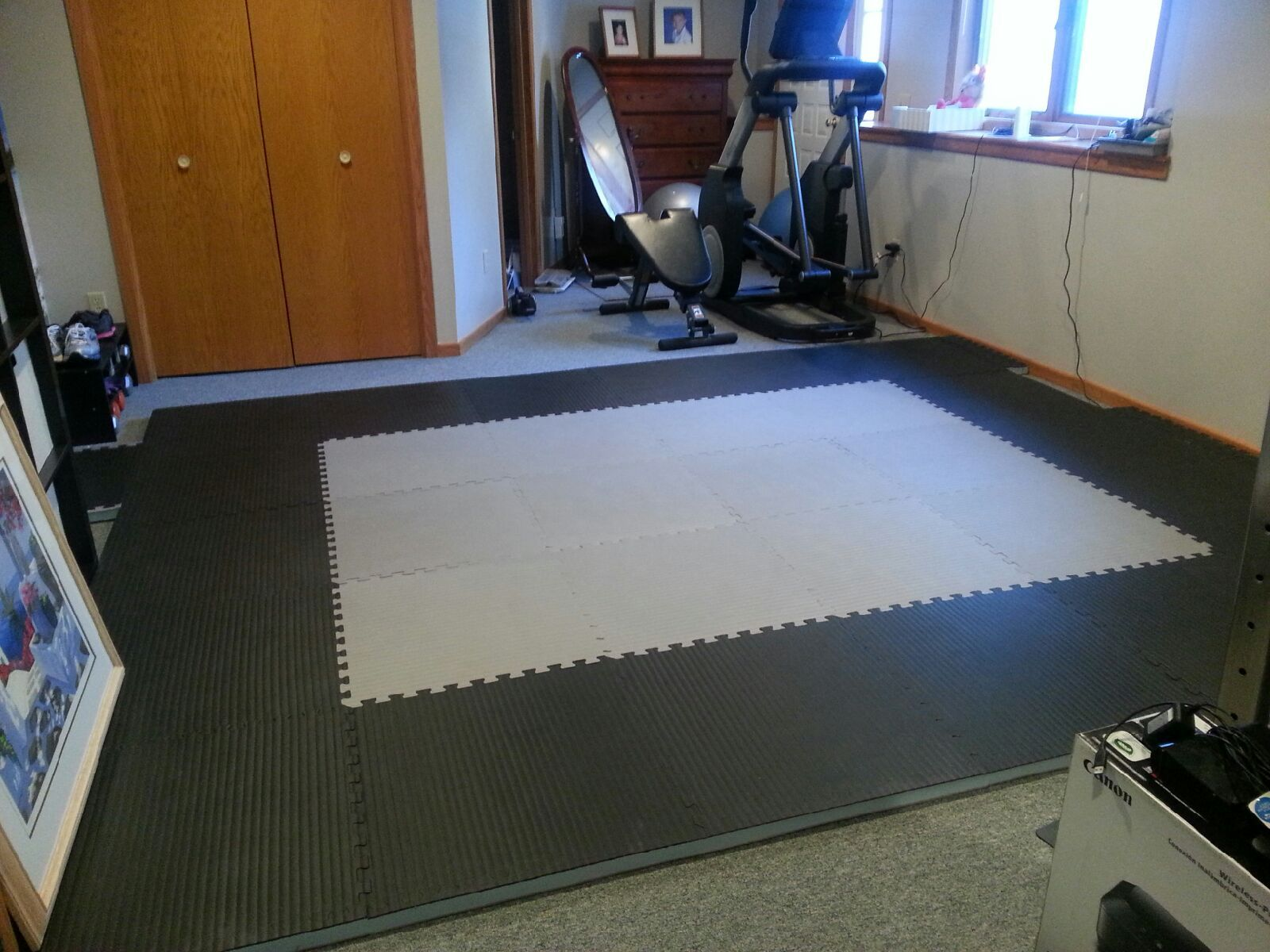 Dear Greatmats I recently purchased the 1 5/8'' BJJ mats