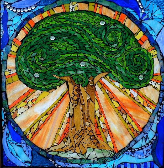 Stained Glass Mosaic Art in Cape Elizabeth