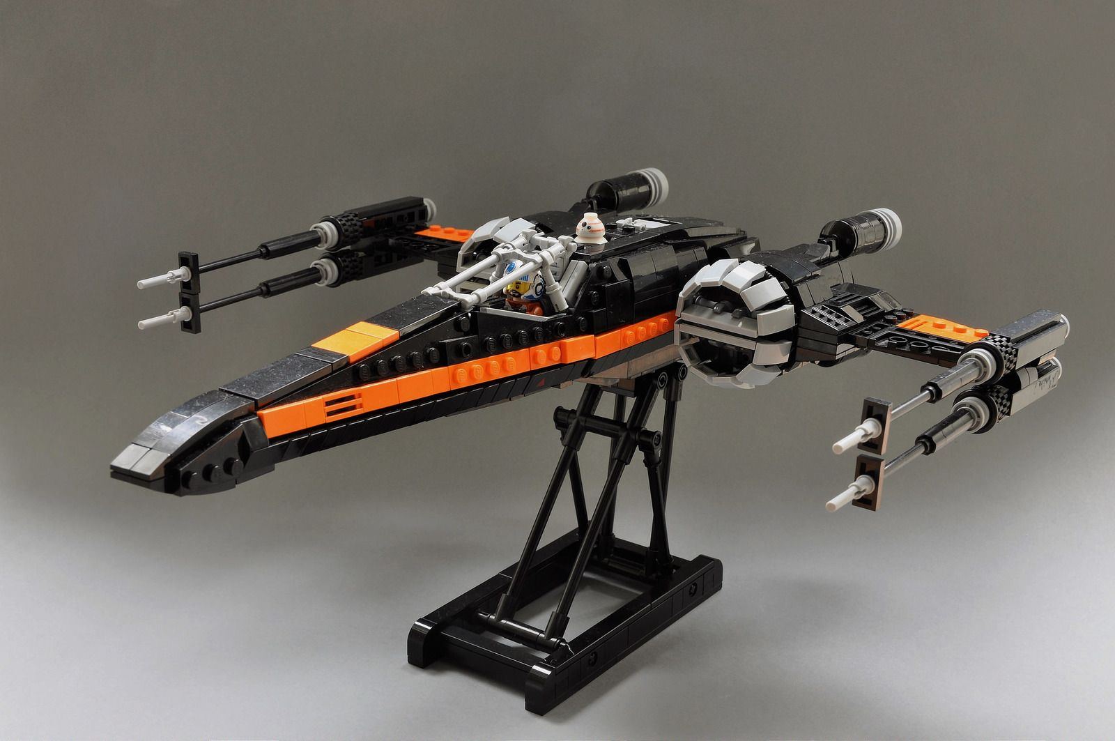 Poes T 70 X Wing 3 By Inthert Lego Stuff Lego Spaceship