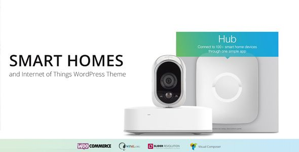 Home - Internet of Things & Home Automation WordPress Theme