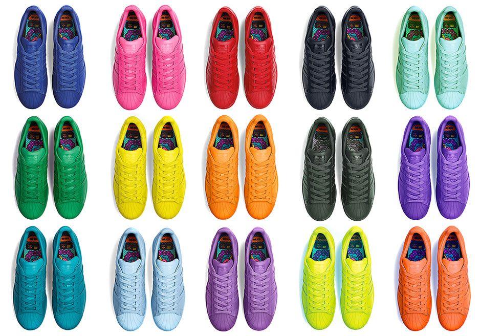 adidas superstar 50 colours