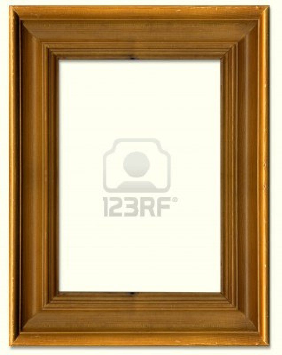 aa0efe67213a Pine wood picture frame border design Stock Photo