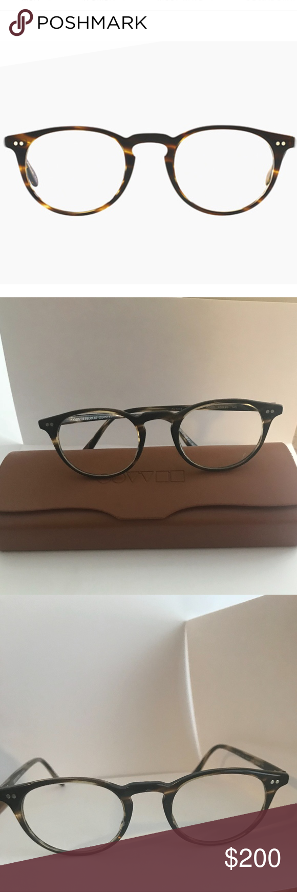 aeab4c31fa2 Oliver Peoples Riley R Glasses OLIVER PEOPLES RILEY-R OV5004 1003 Cocobolo-  handcrafted lightweight plastic and includes rounded contouring
