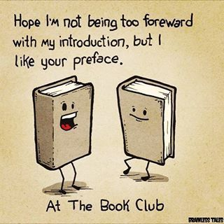 This Punny Preamble With Images Book Club Books Book Jokes