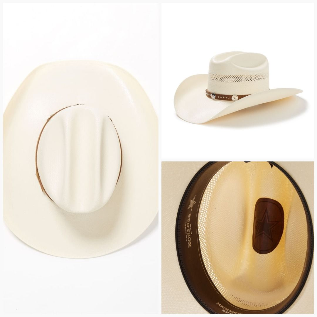 Stetson Dallas Cowboys Trail Rider 10X Straw Cowboy Hat Item SSTRRD-304281   WesternBootsViaDanielsRun  BootsFromSmokinJim  Boots  SmokinJimWesternWear    ... 08b3bced4c2