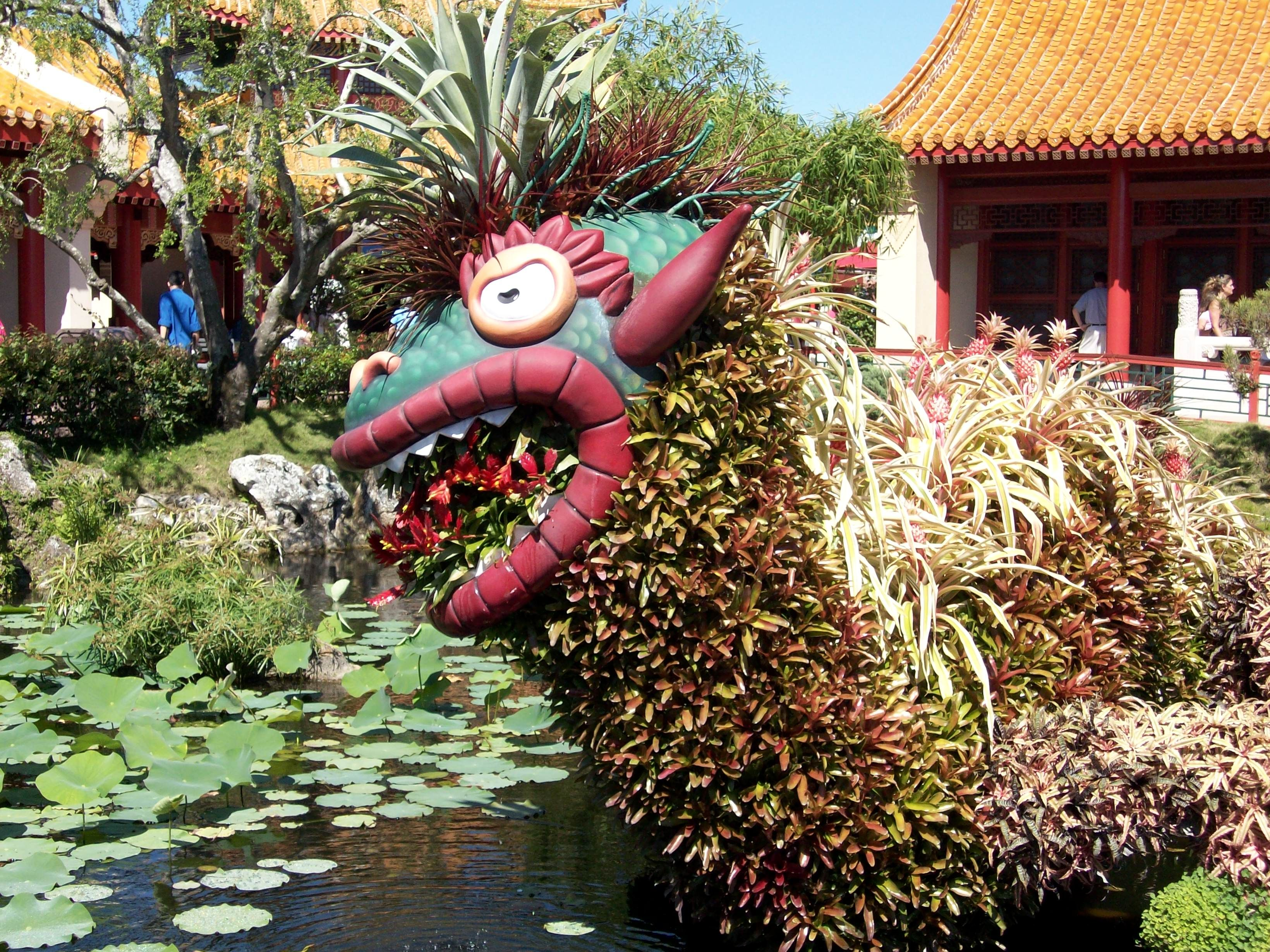 China Dragon at Epcot\'s Flower & Garden Festival | Everything Disney ...
