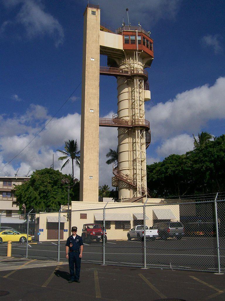 Submarine Escape Training Tower Pearl Harbor Pearl Harbor Submarine Navy Veteran