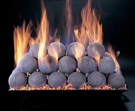 Fire Balls Gas Fireplace Logs Fire Pit Ball Gas Firepit