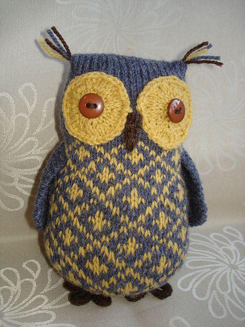 Ravelry: greenivy1's Tawny Owl 'Flynn'
