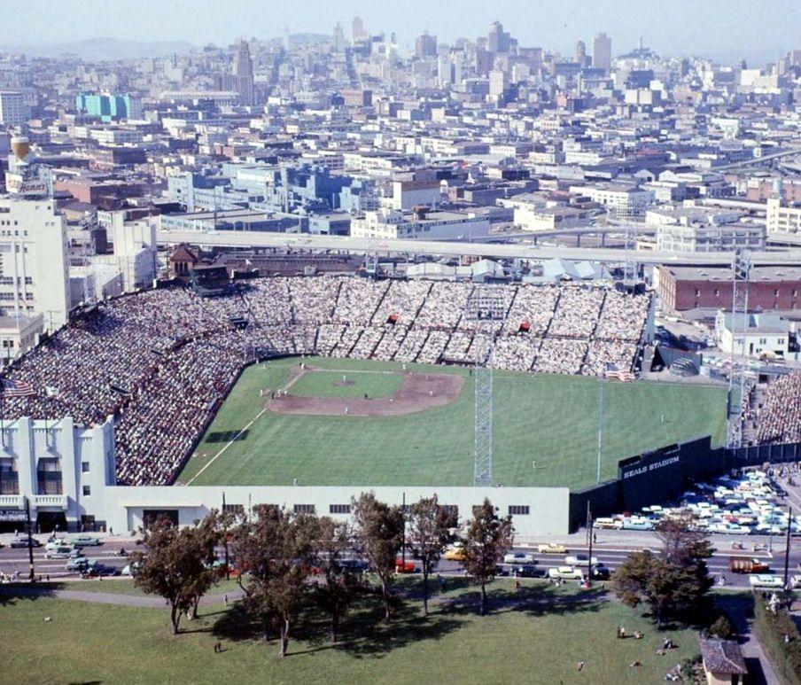 Seals Stadium SF,CA Major league baseball stadiums