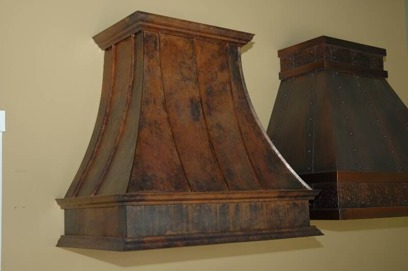 Aged Copper Hoods Copper Hood Country Decor Rustic