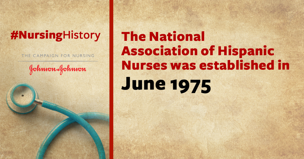 This month, join us in recognizing the 41st anniversary of The National Association of Hispanic #Nurses! #NursingHistory