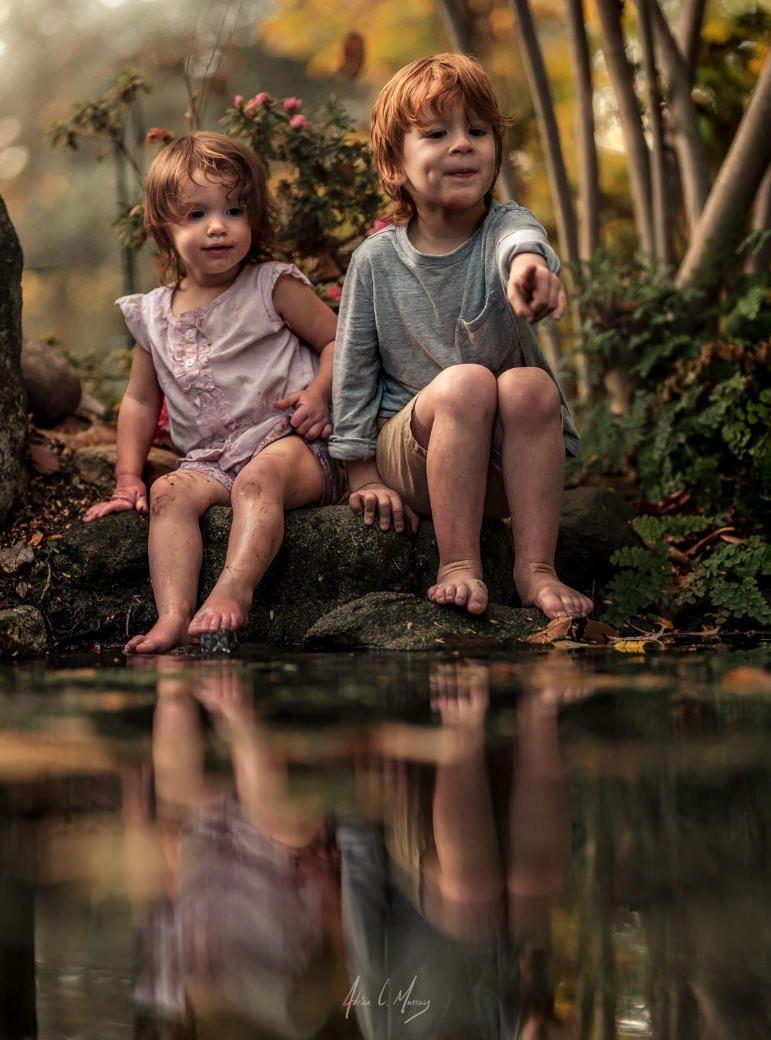 Adrian и его дети | Фото малышей, Фото брата и сестры ...