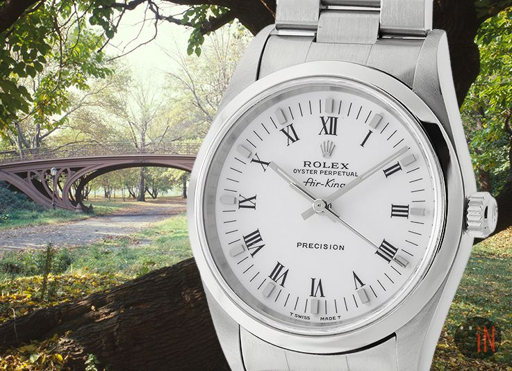 """A Walk iN The Park!"" Rolex 34mm AirKing Precision"