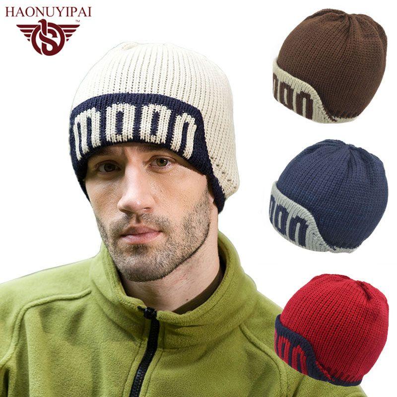 96e44c17442 2016 New Brand Beanies Knitted Men Women Hip Hop Touca Skullies Hats Winter  Outdoor Sports Warm Baggy Bonnet Beanies Hat A025