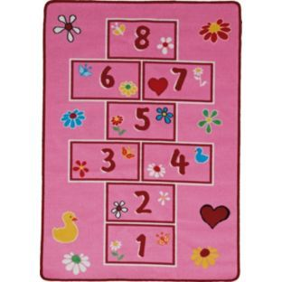 Living Pink Hop Scotch Rug 150 X 80cm At Argos Co Uk Your Online For Rugats