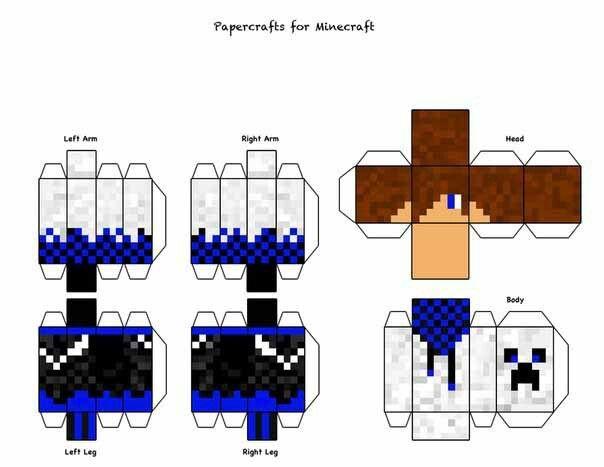 Armables De Minecraft Busqueda De Google Armables De Minecraft Manualidades De Minecraft Minecraft Para Armar