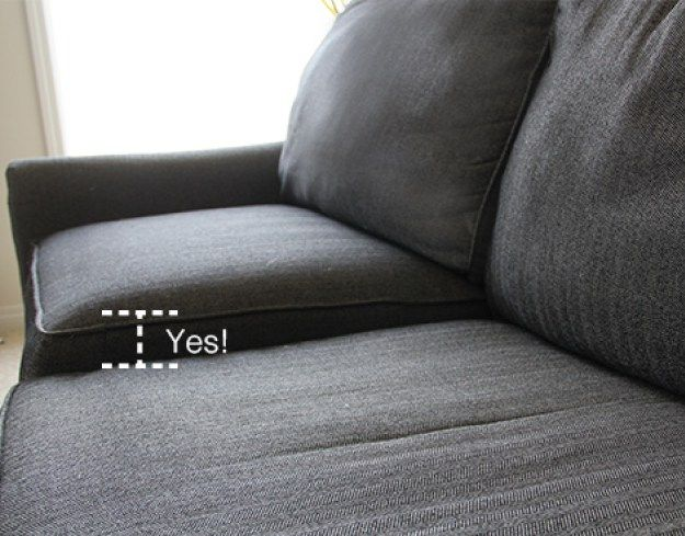 How To Stuff Your Sofa Cushions And Give Them New Life Diy Home