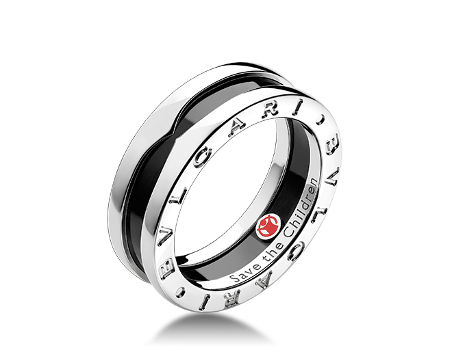 BVLGARI save the children mens wedding ring band Mens wedding