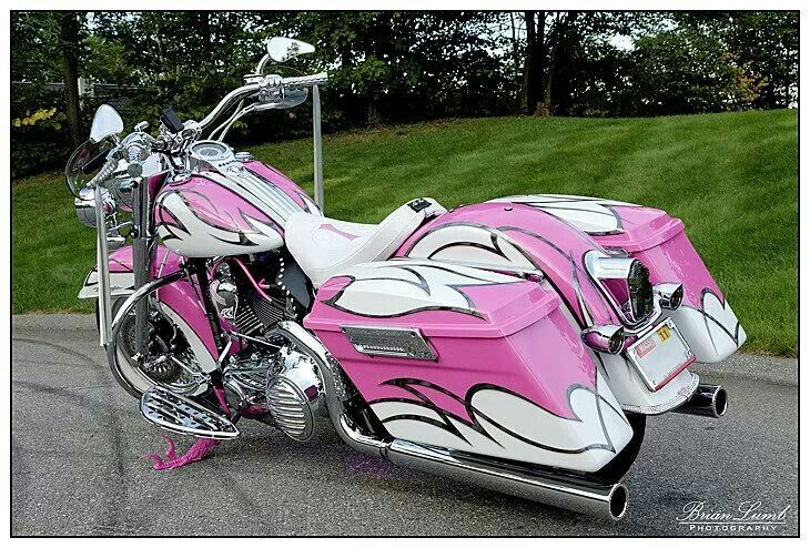 breast cancer awareness chopper