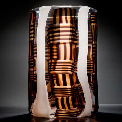 Vessel – gallery Madras VIII | Glass art sculpture, Glass