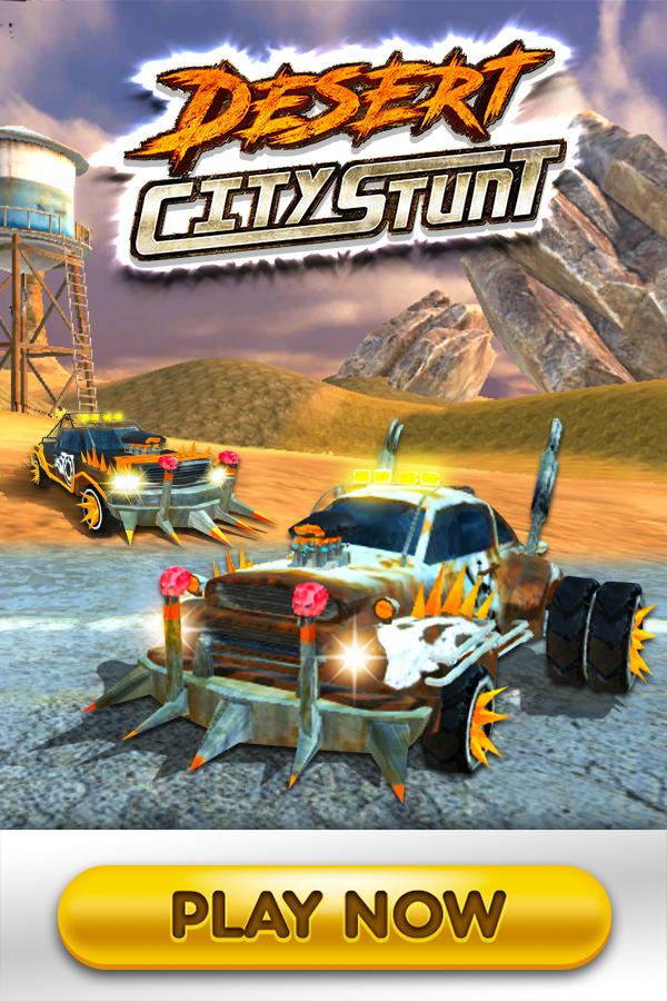 Desert City Stunt in 2020 Stunts, Two player games, City