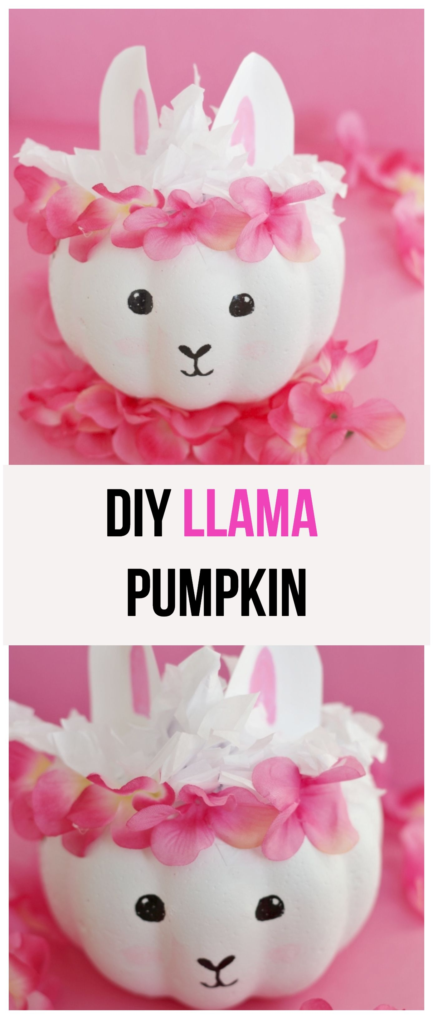 DIY Llama Pumpkin | Centerpieces | Pinterest | Holidays halloween ...