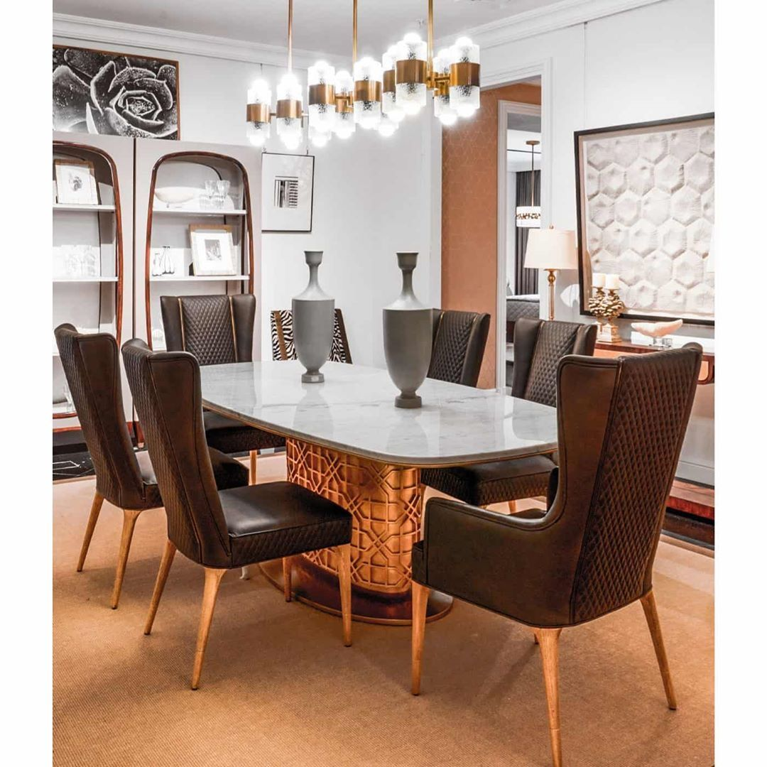 Colter oval dining table   Contemporary furniture design, Luxury ...