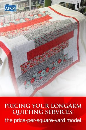 Blog - Pricing your longarm quilting services using the price-per-square-yard model
