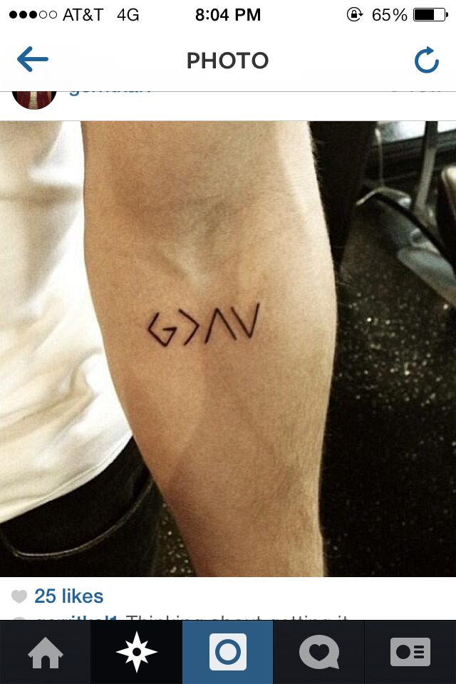 God Is Greater Than The Highs And Lows Also Could Use Hebrew Letter