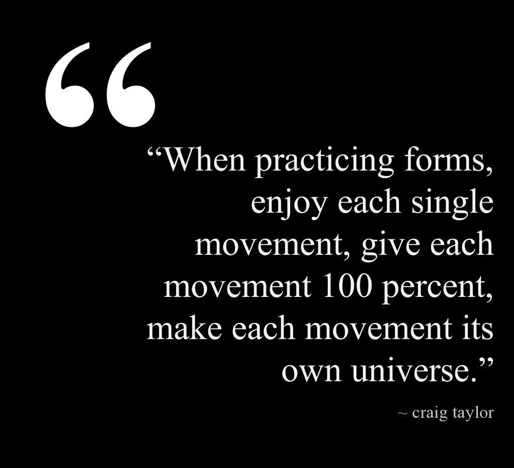 Taekwondo Quotes Amazing Kata Advice Mirroring What A Wise Man Said About Making