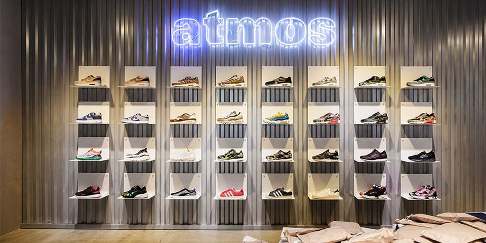Look Inside the New atmos Seoul Store