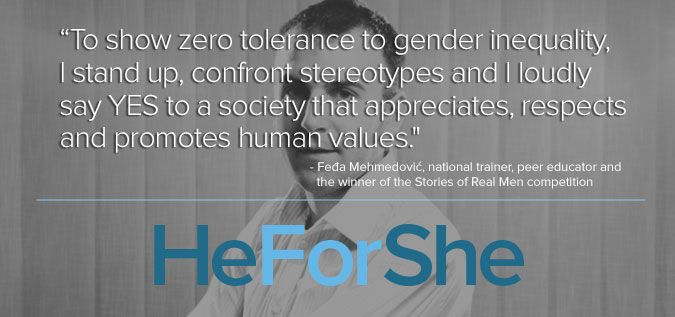 """""""To Show Zero Tolerance To Gender Inequality, I Stand Up"""
