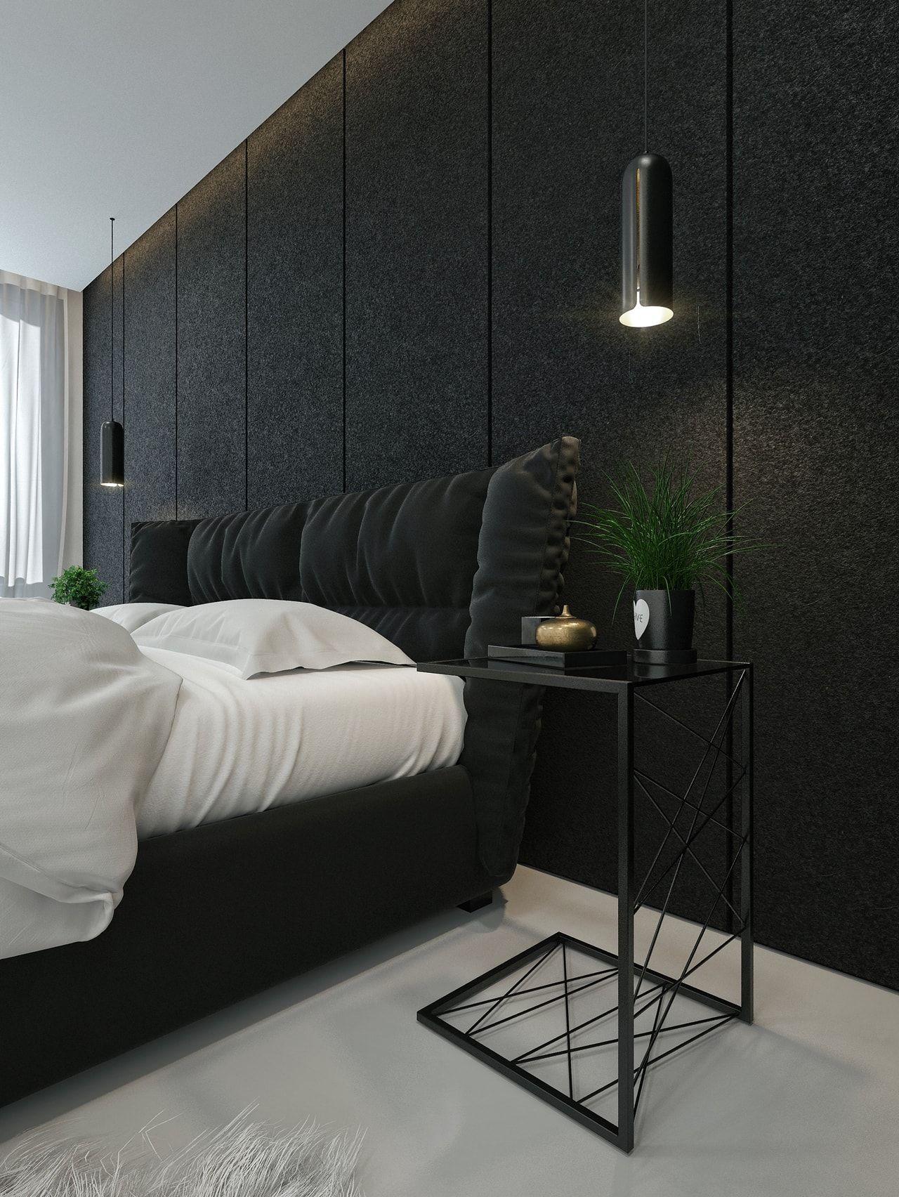 Black And White Home Interior Design For Luxury Home Black