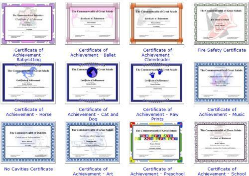 free printable award certificate template free printable award