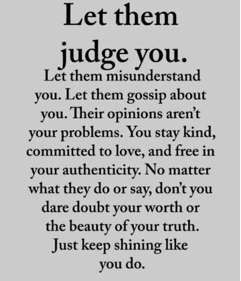 Keep shining like you do!