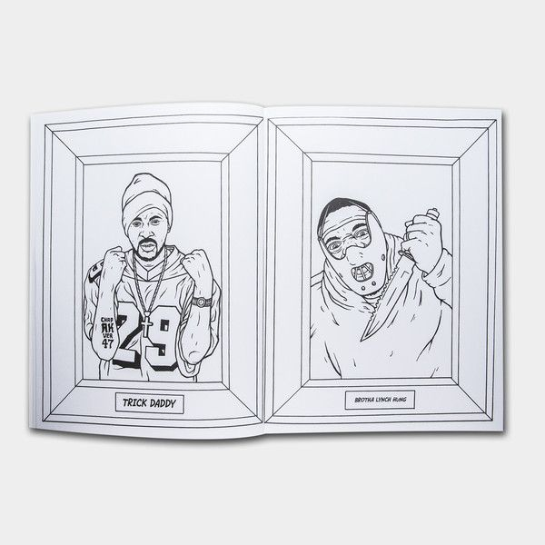 Gangsta Rap Coloring Book | Stuff I don\'t need, but WANT | Pinterest