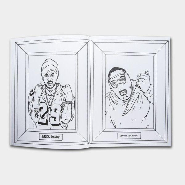 Gangsta Rap Coloring Book | Stuff I don\'t need, but WANT | Pinterest