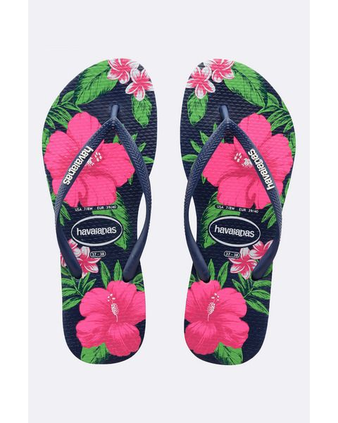 729cd8d49 HAVAIANAS WOMENS HAVAIANAS SLIM FLORAL THONG size 9 (41 42 ...