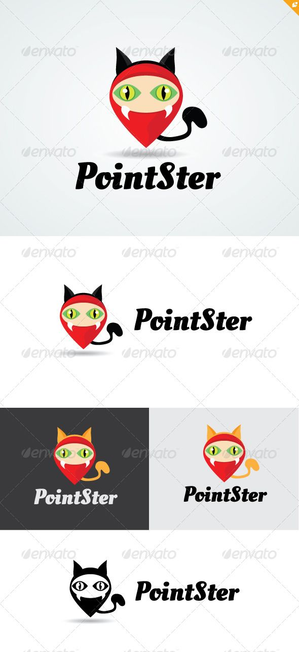 Point Monster Logo By Layersky This Design For All Creative Business Consulting Excellent Simple And Unique Concept Template Featuresai