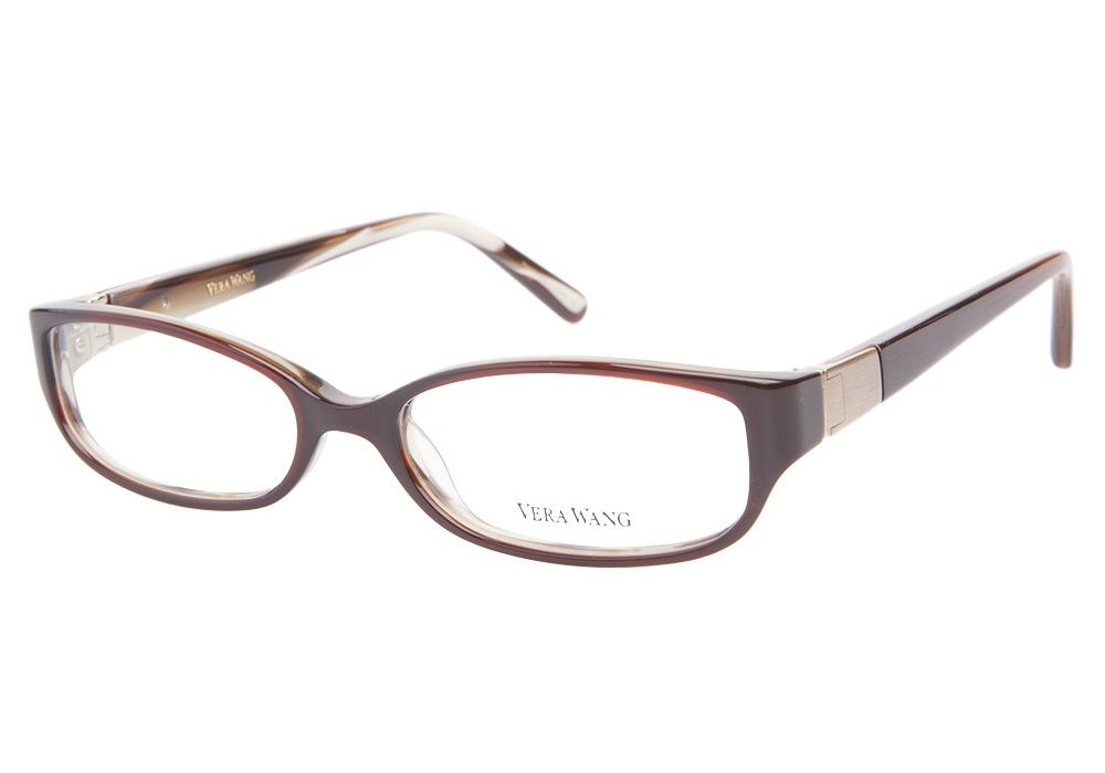 vera wang 057 brown eyeglasses get low prices superior customer service fast shipping